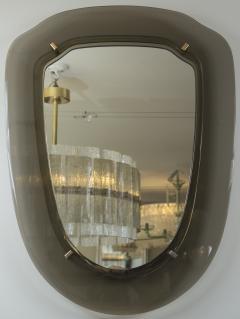 VECA Italian Mid Century Grey Mirror - 1073091