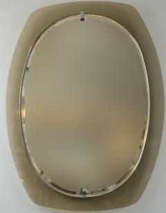 VECA Mid Century Caramel Mirror by Veca - 890117