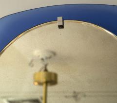 VECA Mid Century Klein Blue Mirror by Veca - 890127