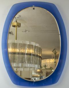 VECA Mid Century Klein Blue Mirror by Veca - 890128