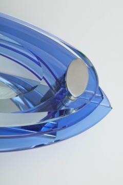 VECA Veca 3 Layer Blue Murano Glass Sconces - 880746