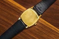 Vacheron Constantin 18 Karat Yellow Gold Vacheron Constantin Sector Dial Officers Cushion Wristwatch - 1327523