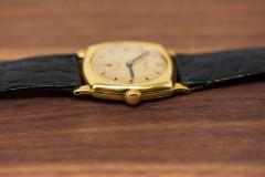 Vacheron Constantin 18 Karat Yellow Gold Vacheron Constantin Sector Dial Officers Cushion Wristwatch - 1327526