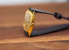 Vacheron Constantin 18 Karat Yellow Gold Vacheron Constantin Sector Dial Officers Cushion Wristwatch - 1327527