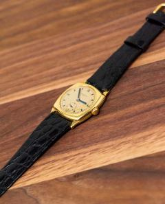 Vacheron Constantin 18 Karat Yellow Gold Vacheron Constantin Sector Dial Officers Cushion Wristwatch - 1327528