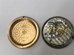 Vacheron Constantin 1940s Vacheron Constantin Lemon Dial 18kt Yg Tear Drop Lugs Wristwatch - 867753