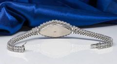 Vacheron Constantin Rare 30carat 42mm Vacheron Constantin White Gold Diamond Lozenge Wristwatch - 1424889