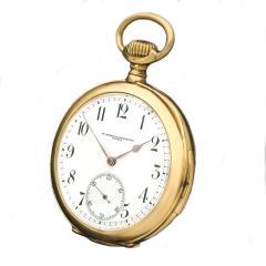 Vacheron Constantin Rare Early Vacheron Constantin 18 Kt YG Quarter Hour Repeating Pocket Watch - 459987