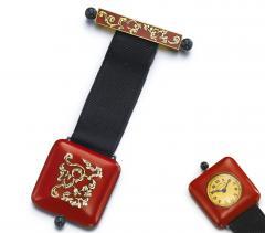 Vacheron Constantin Vacheron Constantin Art Deco Chinois Onyx 18kt Platinum Pendant watch - 469053