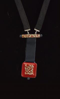 Vacheron Constantin Vacheron Constantin Art Deco Chinois Onyx 18kt Platinum Pendant watch - 469057