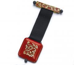 Vacheron Constantin Vacheron Constantin Art Deco Chinois Onyx 18kt Platinum Pendant watch - 469062