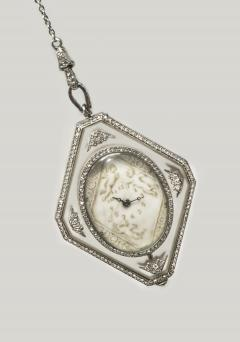 Vacheron Constantin Vacheron Constantin Museum Piece Verger Freres Rock Crystal Pendant Watch - 580818