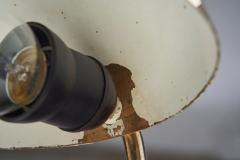 Valinte OY Mid Century Model 2433 Brass Desk Lamp by Valinte Oy Finland 1950s - 2062074