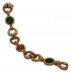 Van Cleef Arpels Can Cleef Arpels coral and chrysophrase bracelet - 1466019