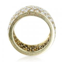 Van Cleef Arpels VAN CLEEF ARPELS FOUR ROW DIAMOND BAND 18K YELLOW GOLD - 1989713