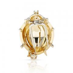 Van Cleef Arpels VAN CLEEF ARPELS LADYBUG BROOCH PIN WITH DIAMONDS 18 KARAT YELLOW GOLD - 2077440
