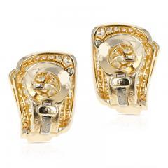 Van Cleef Arpels VAN CLEEF ARPELS THREE STEP COCKTAIL EARRINGS WITH 3 20 CARAT DIAMONDS 18K - 2031139