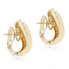 Van Cleef Arpels VAN CLEEF ARPELS THREE STEP COCKTAIL EARRINGS WITH 3 20 CARAT DIAMONDS 18K - 2031140