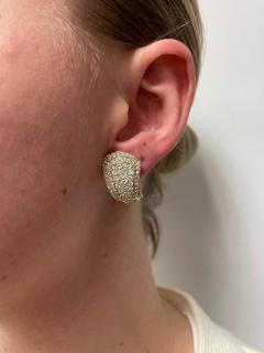 Van Cleef Arpels VAN CLEEF ARPELS THREE STEP COCKTAIL EARRINGS WITH 3 20 CARAT DIAMONDS 18K - 2031141