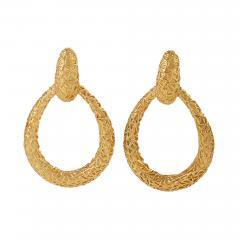 Van Cleef Arpels Van Cleef Arpels Chevalerie Gold Earrings - 1181069
