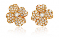 Van Cleef Arpels Van Cleef Arpels Cosmos earrings - 1148026