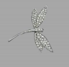 Van Cleef Arpels Van Cleef Arpels Diamond Dragonfly Pin - 846134
