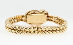 Van Cleef Arpels Van Cleef Arpels Hidden Watch Gold Knot Bracelet Circa 1960s - 181460