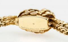 Van Cleef Arpels Van Cleef Arpels Hidden Watch Gold Knot Bracelet Circa 1960s - 181461
