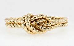 Van Cleef Arpels Van Cleef Arpels Hidden Watch Gold Knot Bracelet Circa 1960s - 181463