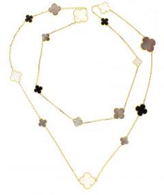 Van Cleef Arpels Van Cleef Arpels Magic Alhambra Long Necklace 16 Motifs - 1136163