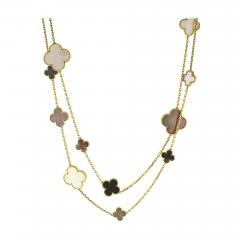 Van Cleef Arpels Van Cleef Arpels Magic Alhambra Long Necklace 16 Motifs - 1136257