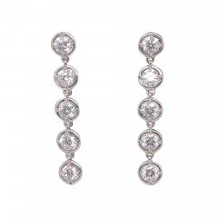 Van Cleef Arpels Van Cleef Arpels Palmyre diamond earrings - 1693465