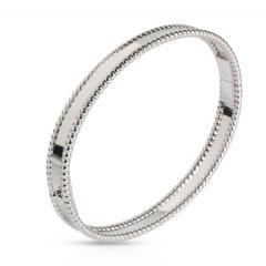 Van Cleef Arpels Van Cleef Arpels Perlee Bracelet in 18K White Gold - 1676106