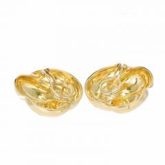 Van Cleef Arpels Van Cleef Arpels Yellow Gold Swirl Clip Post Earrings - 717673
