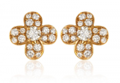 Van Cleef Arpels Van Cleef Arpels diamond clover earrings - 1148025