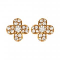 Van Cleef Arpels Van Cleef Arpels diamond clover earrings - 1152692