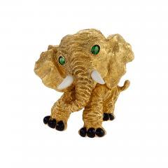 Van Cleef Arpels Van Cleef and Arpels Elephant Brooch - 1135172