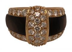 Van Cleef Arpels Van cleef Arpels diamond and black mother of pearl ring - 1474389