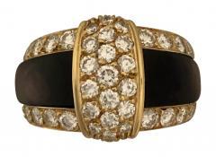 Van Cleef Arpels Van cleef Arpels diamond and black mother of pearl ring - 1474390