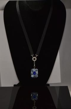 Van Cleef and Arpels Rare 1900s Platinum Diamond Set 18Kt Yg Cameo Pendant Watch - 591586