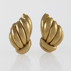 Van Cleef and Arpels Van Cleef Arpels Mid 20th Century Gold Earrings - 664505