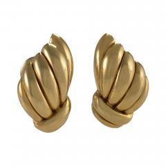 Van Cleef and Arpels Van Cleef Arpels Mid 20th Century Gold Earrings - 665110