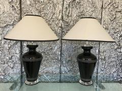 Van Teal Pair of Signed Van Teal Lamps - 516645