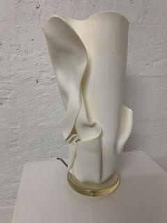 Van Teal Postmodern Van Teal Handkerchief Lamp Signed - 1562770