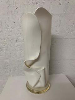Van Teal Postmodern Van Teal Handkerchief Lamp Signed - 1562771