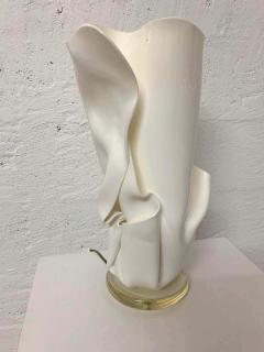 Van Teal Postmodern Van Teal Handkerchief Lamp Signed - 1562778