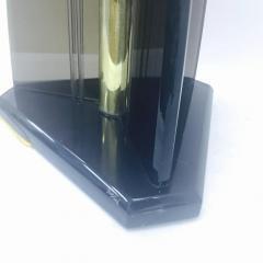 Van Teal Vintage Smoked Lucite Table Lamp by Van Teal - 712484