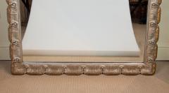 Venesta Gold Silver Gilt Scalloped Hollywood Regency Mirror - 2030590