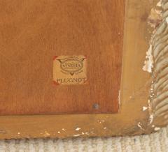 Venesta Gold Silver Gilt Scalloped Hollywood Regency Mirror - 2030593