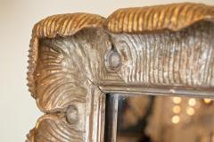 Venesta Gold Silver Gilt Scalloped Hollywood Regency Mirror - 2030597